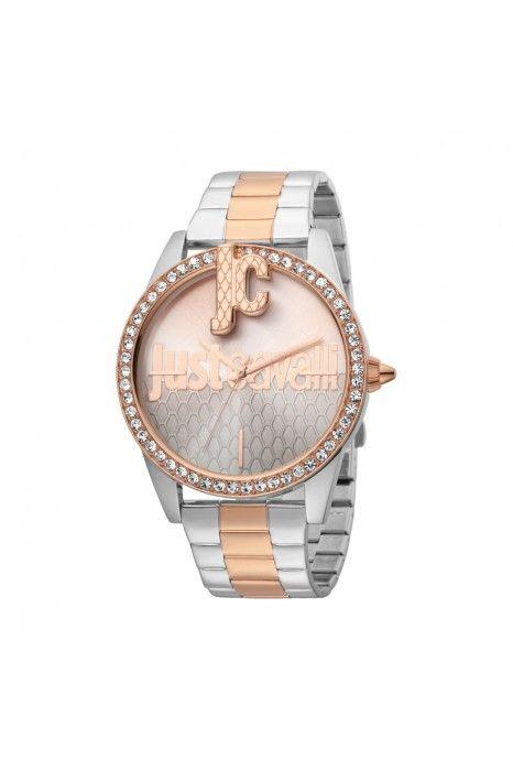Relógio JUST CAVALLI TIME JC XL Bicolor Ouro Rosa