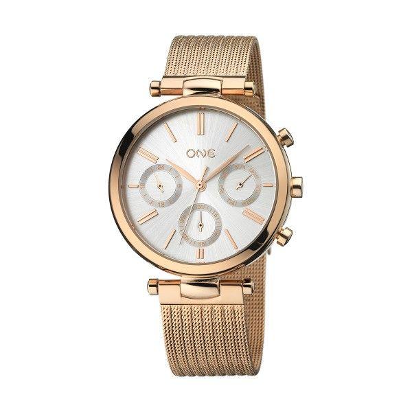 Relógio ONE Impressive Ouro Rosa OL8497RR92L