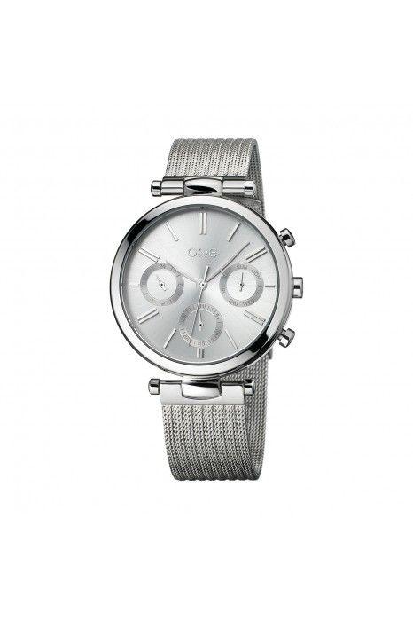 Relógio ONE Impressive Prateado