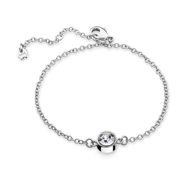 Pulseira ONE JEWELS Bright Star Prateado OJBSB01