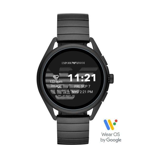 Relógio Inteligente EMPORIO ARMANI Matteo Preto (Smartwatch) ART5020