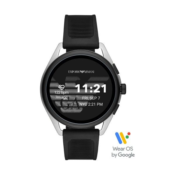 Relógio Inteligente EMPORIO ARMANI Matteo Preto (Smartwatch) ART5021