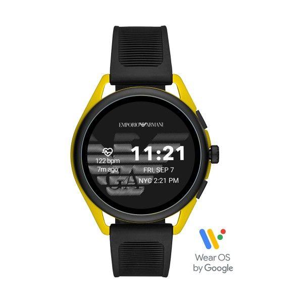 Relógio Inteligente EMPORIO ARMANI Matteo Preto (Smartwatch) ART5022