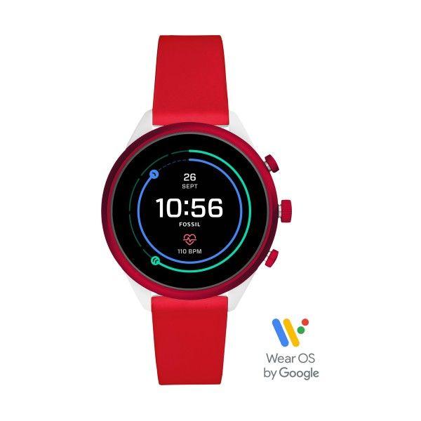 Relógio FOSSIL Q Sport Smartwatch Red (Smartwatch) FTW6052