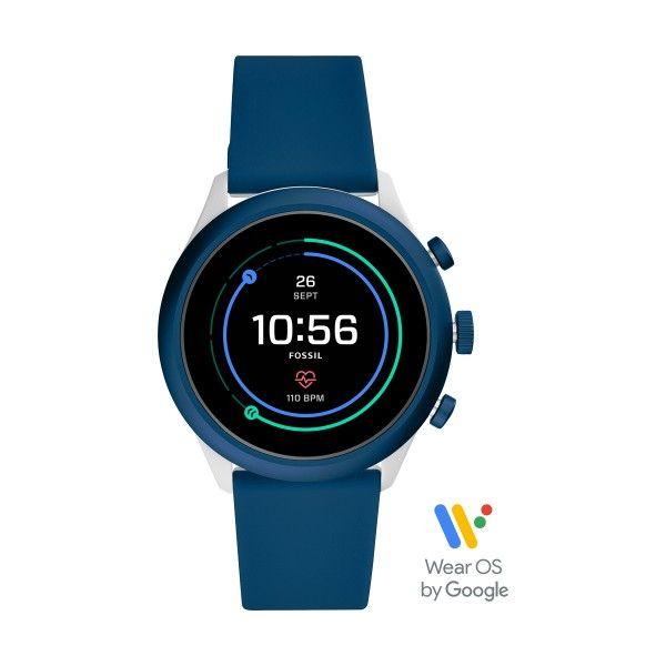 Relógio FOSSIL Q Sport Smartwatch Bicolor (Smartwatch) FTW4036