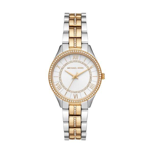Relógio MICHAEL KORS Lauryn Bicolor Dourado MK4454