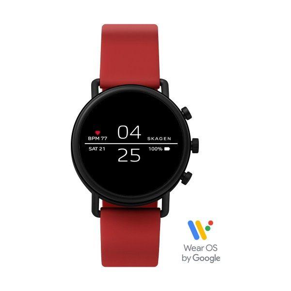 Relógio Inteligente SKAGEN Falster Vermelho (Smartwatch) SKT5113