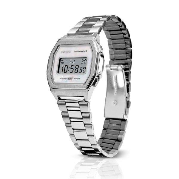Relógio CASIO Vintage Premium Prateado A1000D-7EF