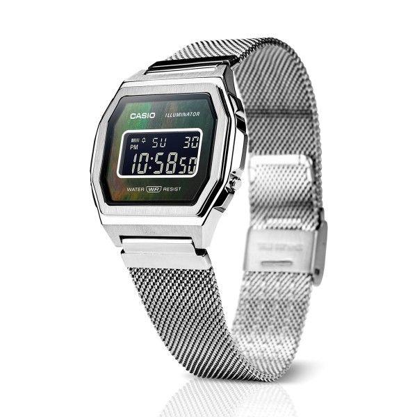 Relógio CASIO Vintage Premium Prateado A1000M-1BEF