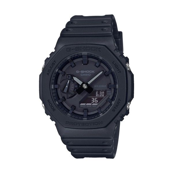 Relógio CASIO G-SHOCK Youth Carbon Preto GA-2100-1A1ER