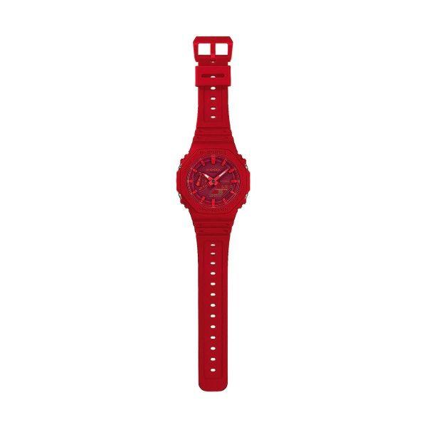 Relógio CASIO G-SHOCK Youth Carbon Vermelho GA-2100-4AER