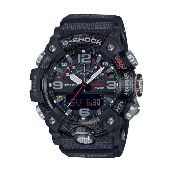 Relógio CASIO G-SHOCK Mudmaster Bluetooth Preto GG-B100-1AER