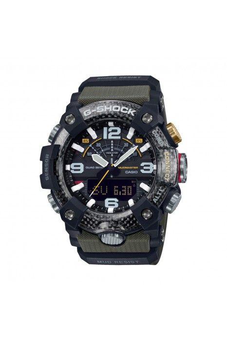 Relógio CASIO G-SHOCK Mudmaster Bluetooth Verde