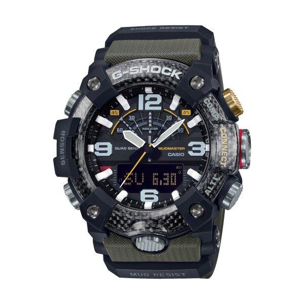 Relógio CASIO G-SHOCK Mudmaster Bluetooth Verde GG-B100-1A3ER