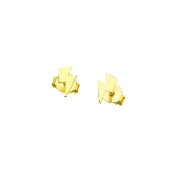 Brincos LE CARRÉ ouro amarelo raio GB065OA.00