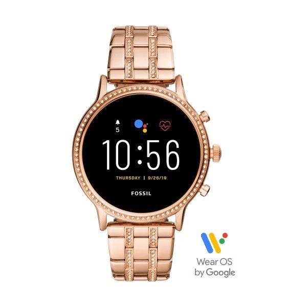 Relógio Inteligente FOSSIL Q Julianna Ouro Rosa (Smartwatch) FTW6035