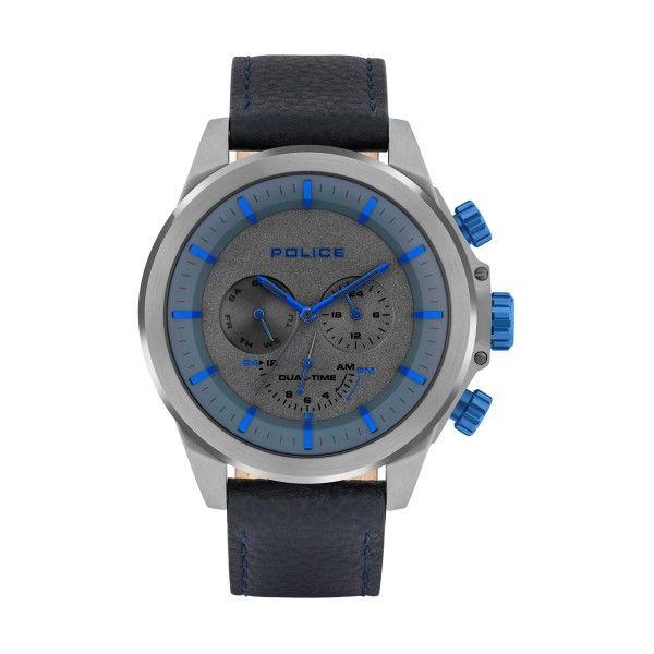Relógio POLICE Belmont Azul P15970JSU61