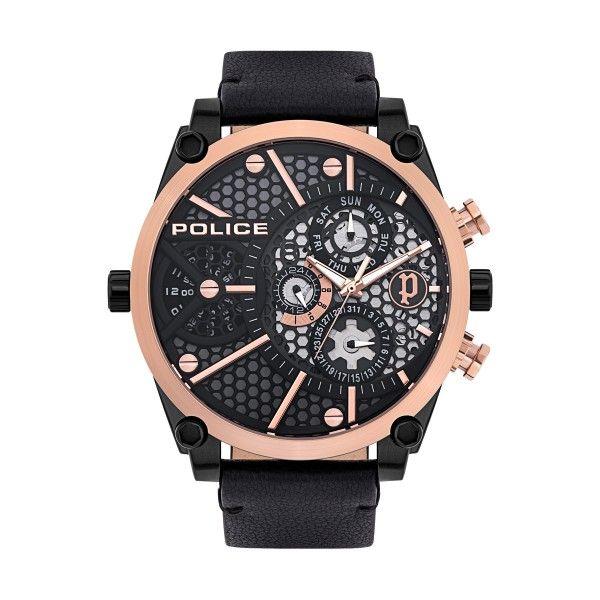Relógio POLICE Vigor Preto P15381JSBR61