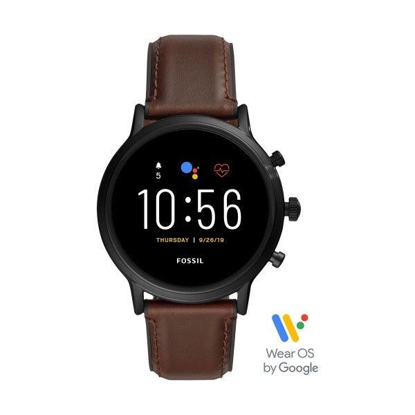 Relógio Inteligente FOSSIL Q Carlyle Castanho (Smartwatch) FTW4026