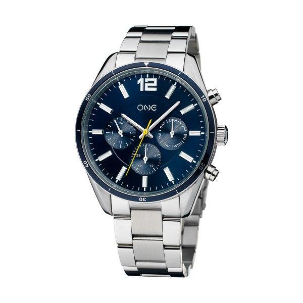 Relógio ONE Vital Prateado OG9960AS92B