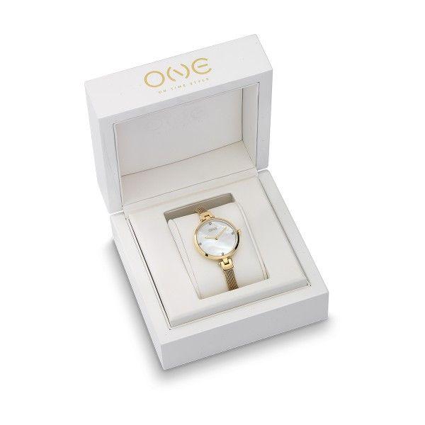 Relógio ONE Diamond Dourado OL8436DS92L