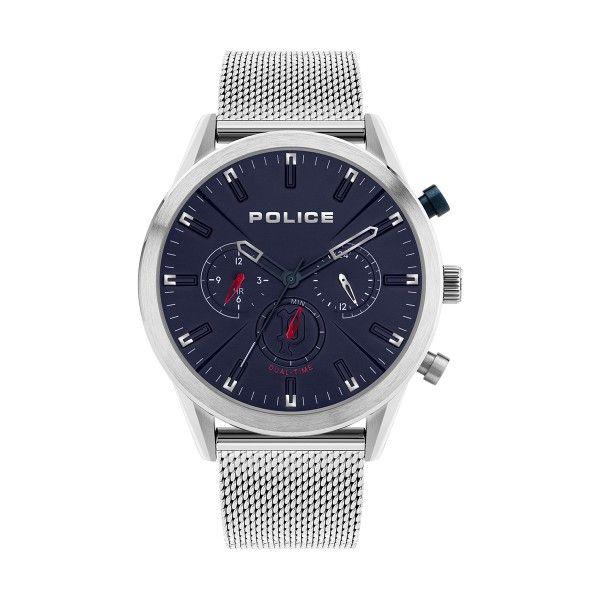 Relógio POLICE Silfra Prateado P16021JS03MM