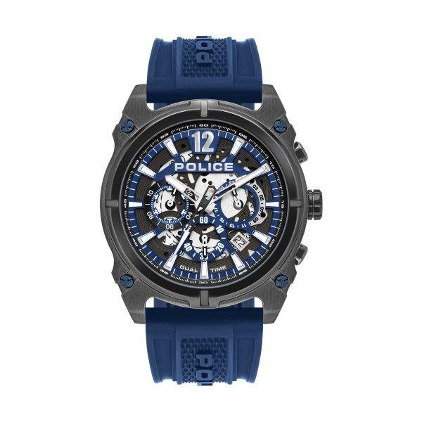 Relógio POLICE Antrim Azul P16020JSU61P