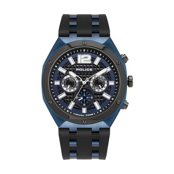 Relógio POLICE Kediri Preto P15995JSBLU03P