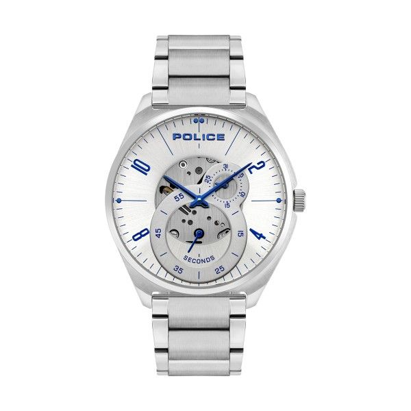 Relógio POLICE Kaizuka Prateado P16022JS04M