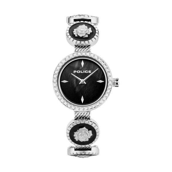 Relógio POLICE WOMAN Kappa Prateado P16026LS30MM