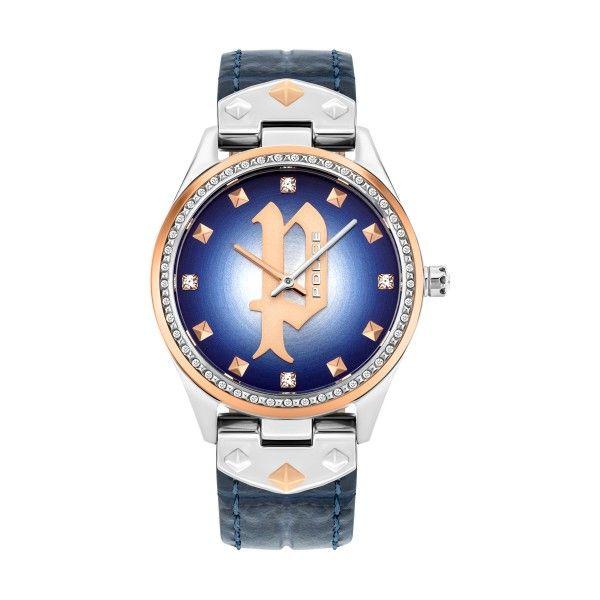 Relógio POLICE WOMAN Pongua Azul P16029MSTR03