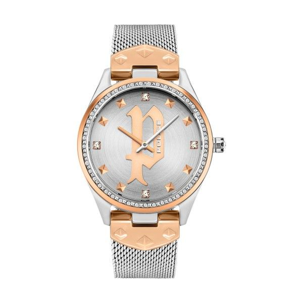 Relógio POLICE WOMAN Pongua Prateado P16029MSTR13MM