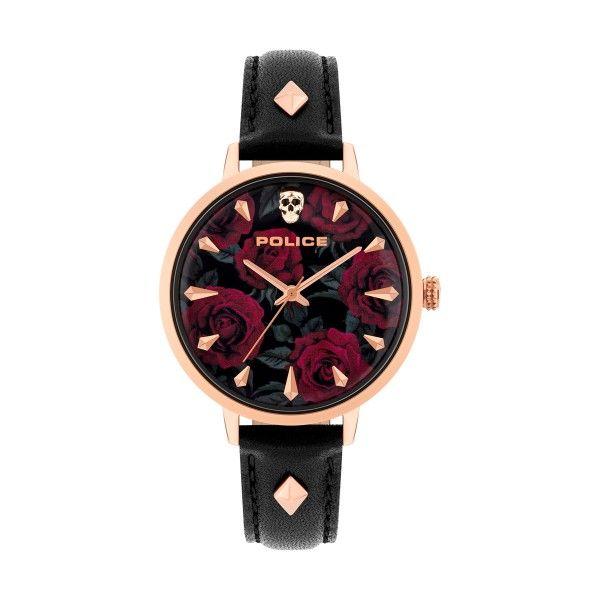 Relógio POLICE WOMAN Miona Preto P16034MSR02
