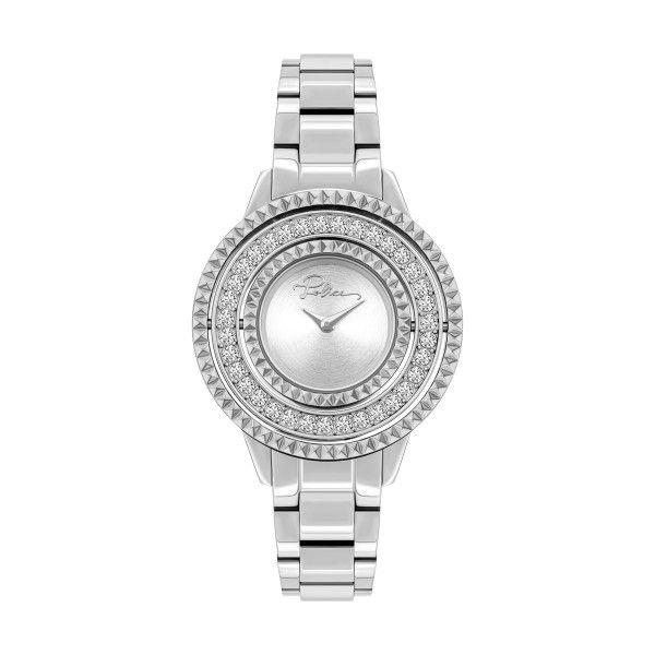 Relógio POLICE WOMAN Pilat Prateado P16037BS04M
