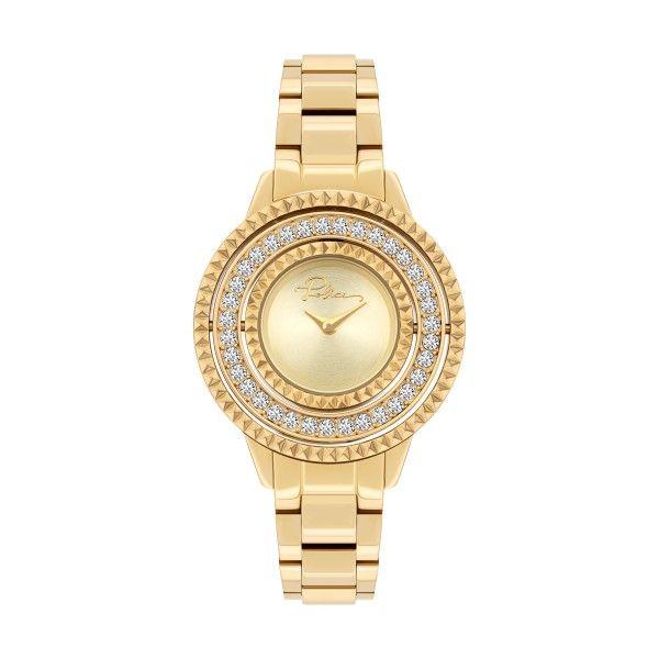 Relógio POLICE WOMAN Pilat Dourado P16037BSG22M