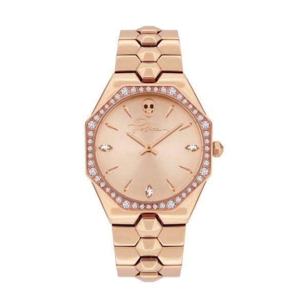 Relógio POLICE WOMAN Montaria Ouro Rosa P16038BSR32M