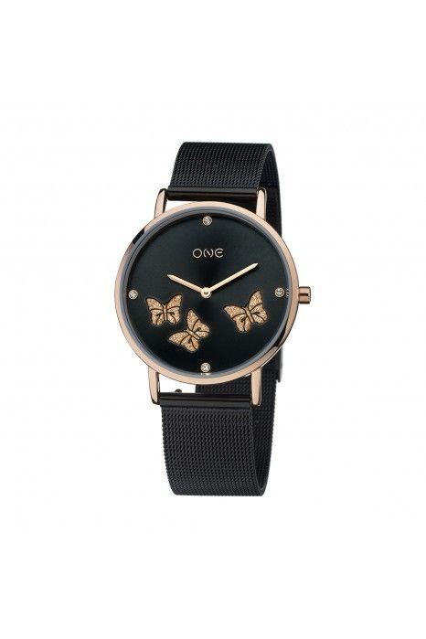 Relógio ONE Exquisite Preto