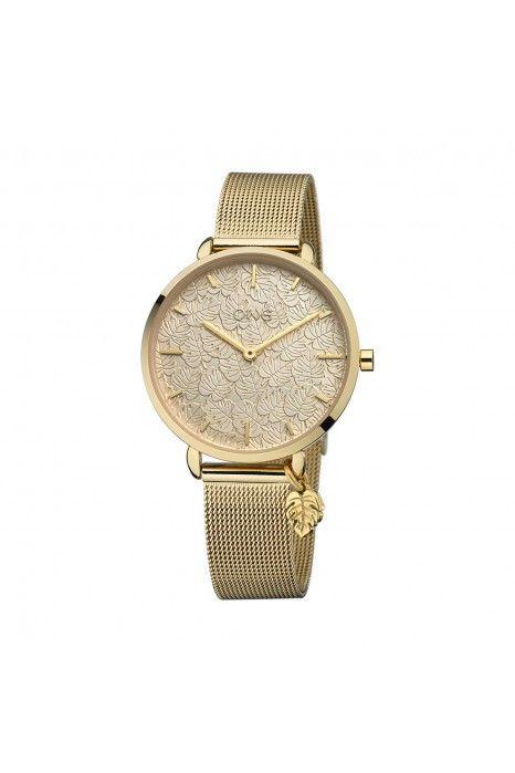 Relógio ONE Leaf Dourado