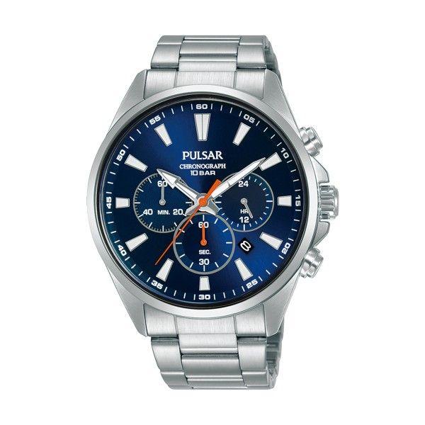 Relógio PULSAR Active Prateado PT3A37X1