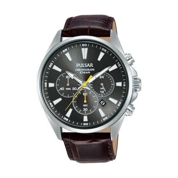 Relógio PULSAR Active Prateado PT3A41X1