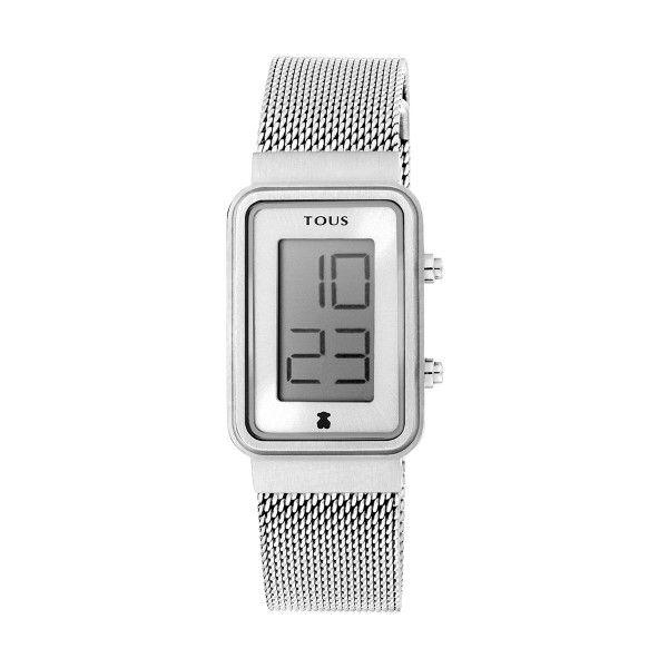 Relógio TOUS Digisquared Prateado 000351520