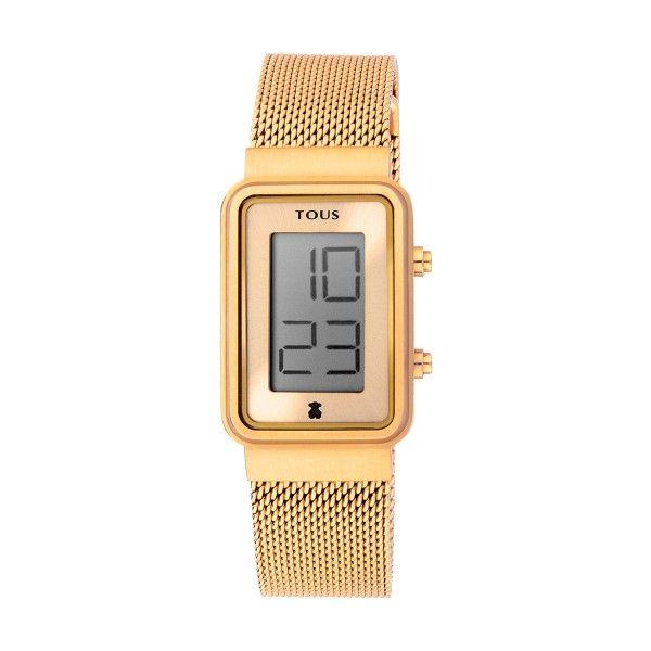 Relógio TOUS Digisquared Dourado 000351525