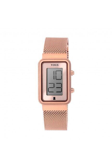 Relógio TOUS Digisquared Ouro Rosa