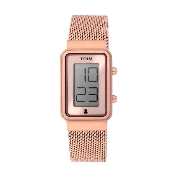 Relógio TOUS Digisquared Ouro Rosa 000351530