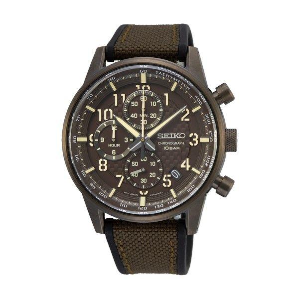 Relógio SEIKO Neo Sports Castanho SSB371P1