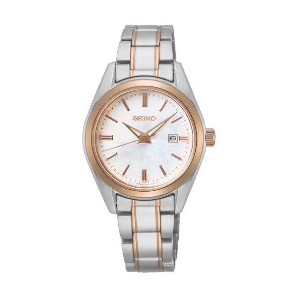 Relógio SEIKO Neo Classic Ouro Rosa SUR634P1