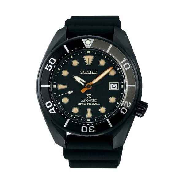 Relógio SEIKO Prospex Black Series Ed Ltd Preto SPB125J1