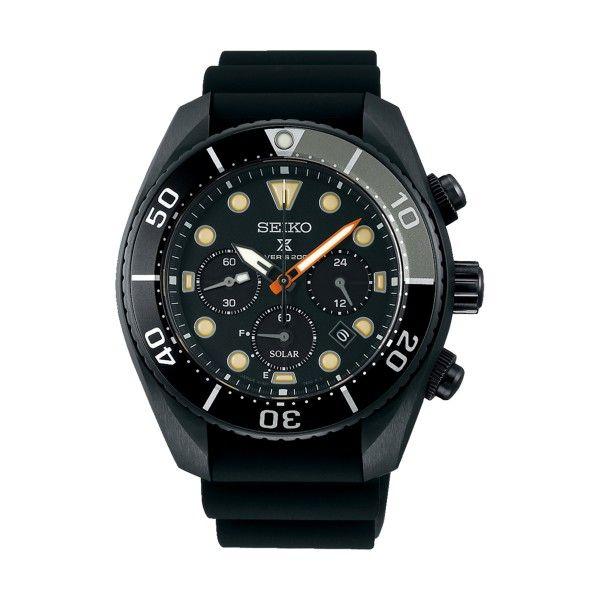 Relógio SEIKO Prospex Black Series Ed Ltd Preto SSC761J1