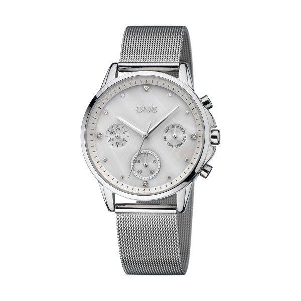 Relógio ONE Amazing Prateado OL8744SS01L