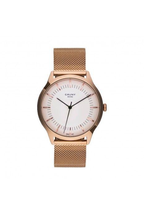 Relógio CAUNY Ânima Ouro Rosa
